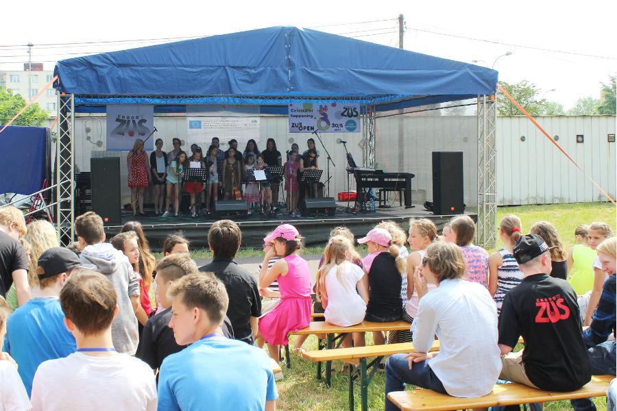 Chodovská  škola se zapojuje také do celostátní akce ZUŠ OPEN. Foto: Martin Polák