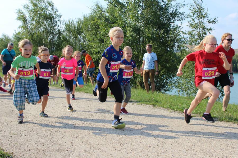 Závod měl i svou dětskou kategorii. Foto: Martin Polák