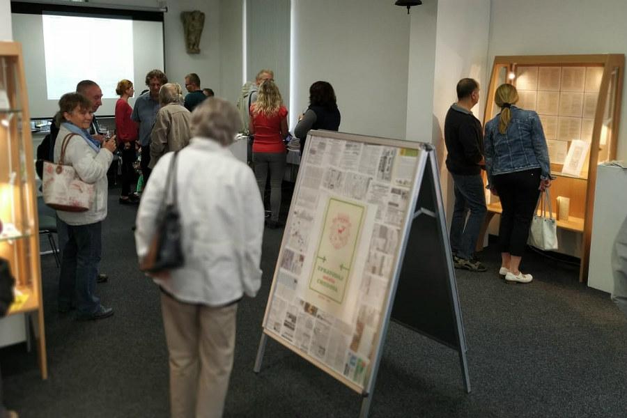 Vernisáž výstavy se konala v Síni historie města v Galerii u Vavřince. Foto: Romana Poláková