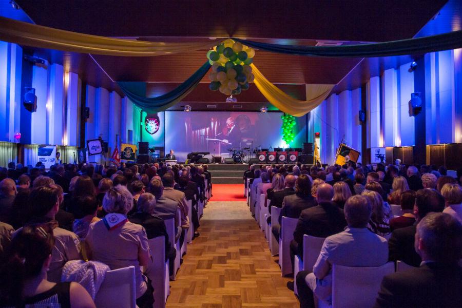 Slavnostní večer v Kulturním a společenském středisku. Foto: Jan Polák