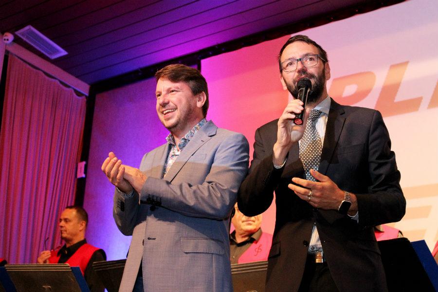 Akci tradičně zahájil starosta Patrik Pizinger (vpravo). Foto: Martin Polák
