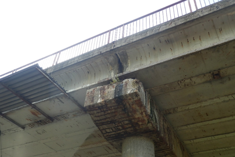 Most v Novém Sedle: Foto: KK