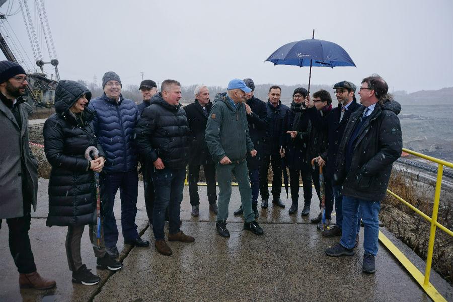 Expertní skupina se seznámila s historií a současnou situací Sokolovska. Foto: KK