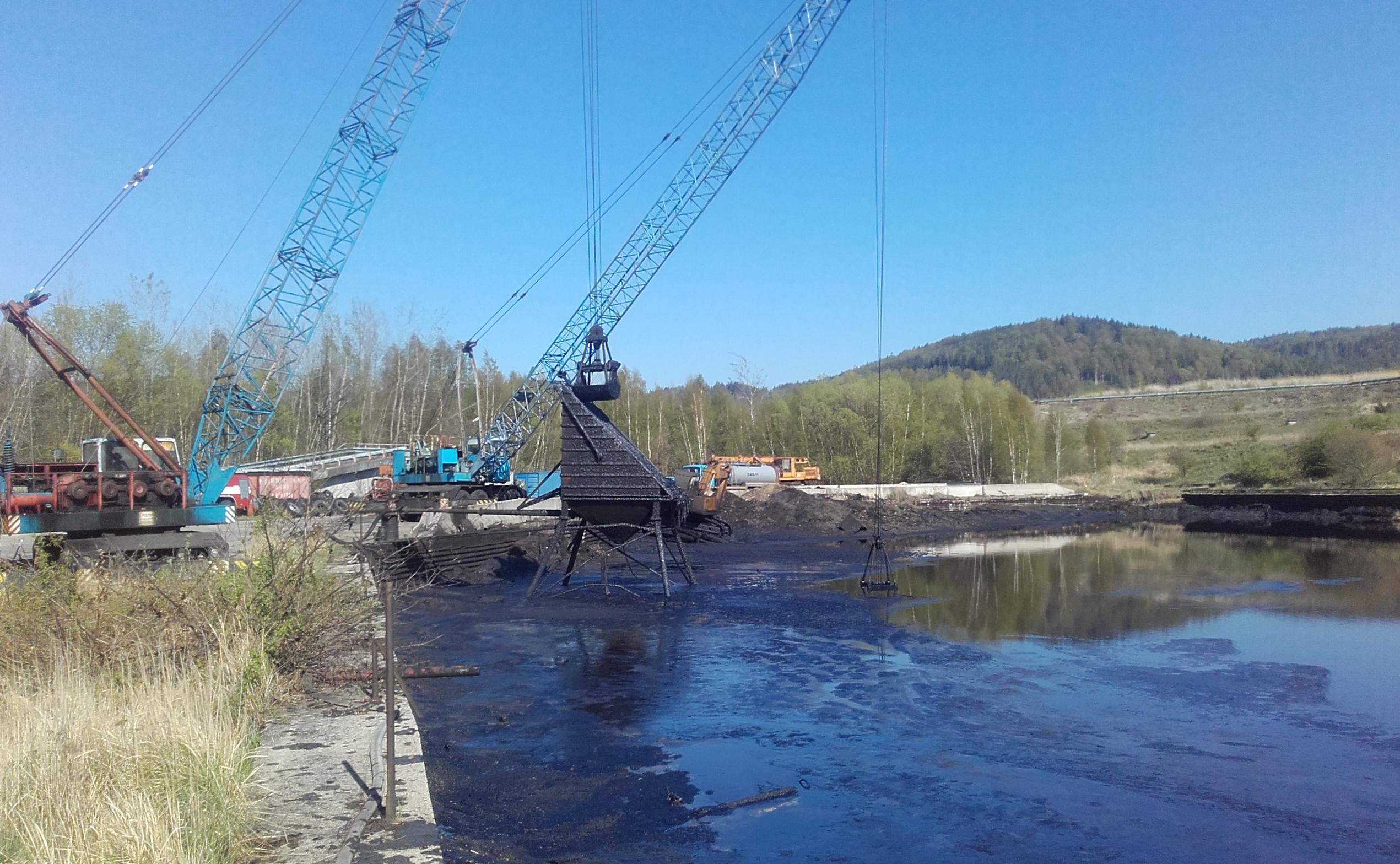 Historické ekologické zátěže poblíž Staré Chodovské definitivně mizí. Foto:SUAS