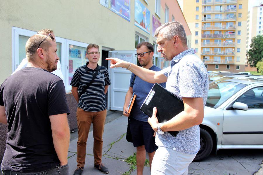 Předání staveniště a dokumentace se uskutečnilo 11. srpna. Foto: Martin Polák