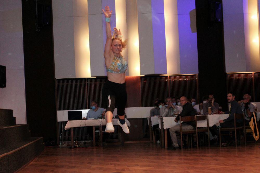Adéla Citová v akci. Foto: Martin Polák