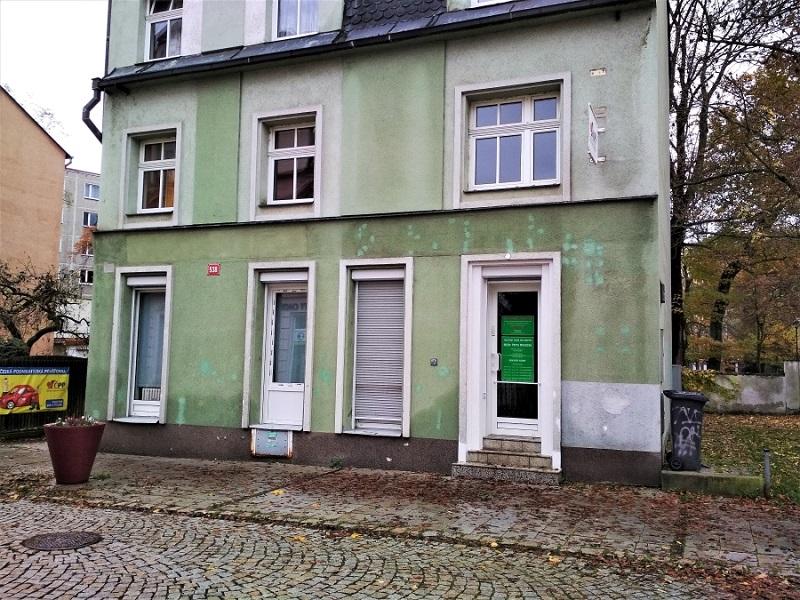 Dům, kde nyní ordinuje MUDr. Petra Mestická. Foto: Martin Polák