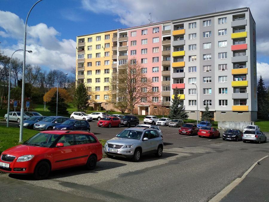 Parkoviště v ČSO projde výraznou proměnou. Foto: Martin Polák