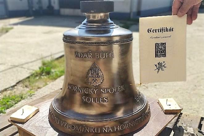 Zvon svatá Barbora. Foto: HS Solles
