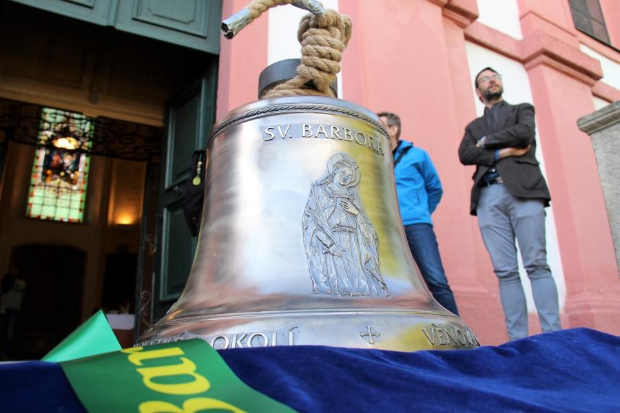 Zvon sv. Barbora. Foto: Martin Polák